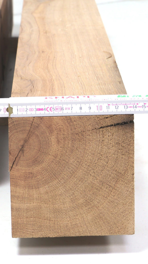 Kanthölzer als Hobelware aus Eiche Altholz in unterschiedlichen Maßen